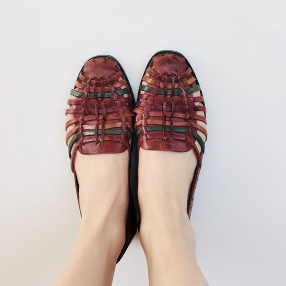 5f19f83f46e5 Basic Editions Shoes - Vintage huarache shoes